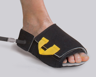 Patented Foot Inflation Cuff